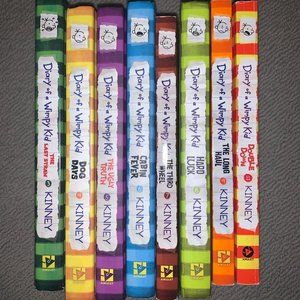 Diary of the Wimpy Kids books
